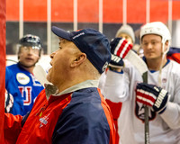 USA Warriors Practice With Caps Coach