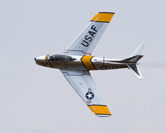 Sabre, F-86, Fighter, Jet