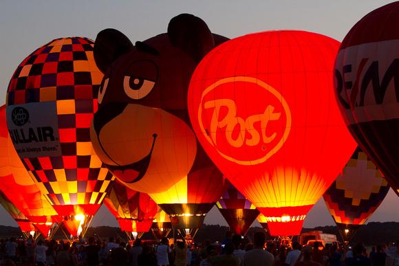 Balloon Illume, Balloon, Illume, Airshow, Twilight, Sunset
